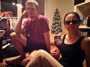 kasia and her boyfriend