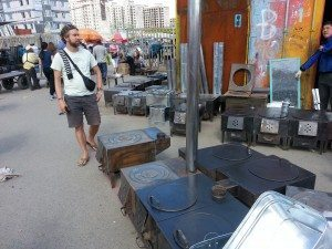 Stoves for sale. These were inside every ger