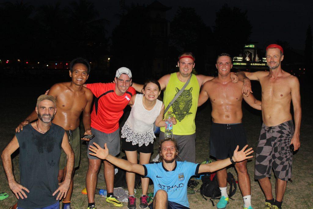 ubud frisbee team