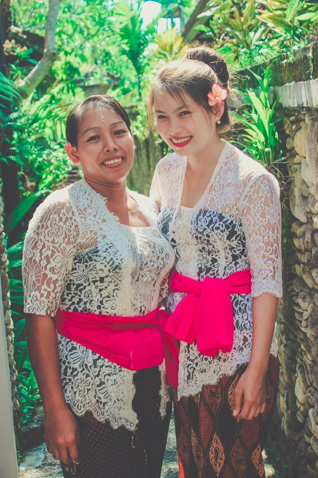 classic balinese clothes full moon ceremony