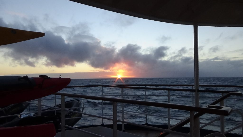 Sunset Over Drake Passage