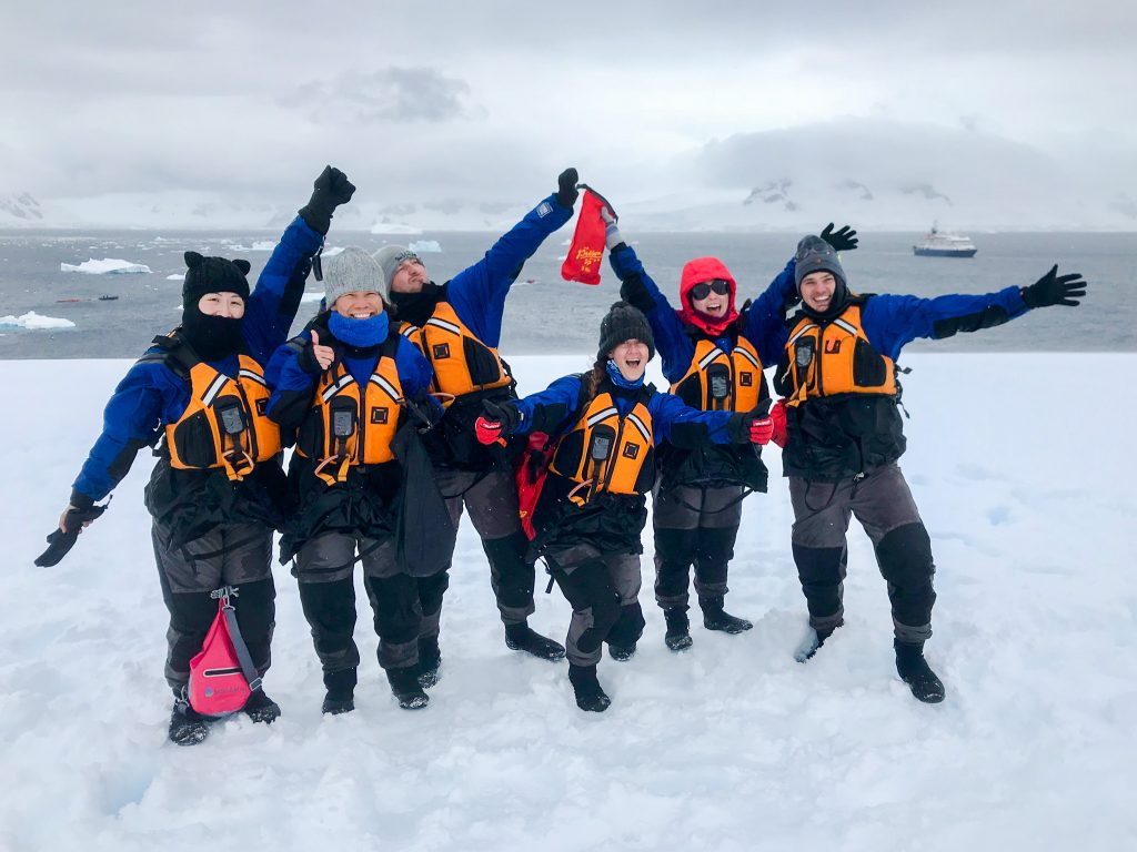sea kayak club antarctica